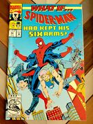 Marveland039s What If... 42 Oct 1992 Spiderman Keep His Six 6 Arms Nice Copy