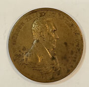 Vintage Us Mint Andrew Jackson 1829 Inaugural Medal 3inch Bronze