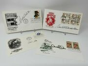 The Golden Girls Signed First Day Covers White, Getty, Mcclanahan Arthur Jsa Coa