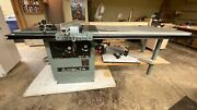 Delta Rt31 10 In. Panel Scoring Table Saw W/ Dust Collector
