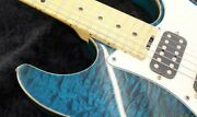Schecter Ex-v-22-frv Stratocaster Type Electric Guitar W/hard Case