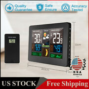Wireless Weather Station Indoor Outdoor Thermometer Hygrometer Digital Lcd U6a5