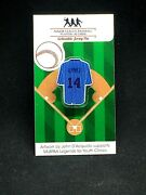 Chicago Cubs Ernie Banks Jersey Lapel Pin-classic Throwback Collectable-hof '77