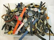 21 + Lbs Character Novelty Advertising Wristwatch Watches Parts Untested As Is
