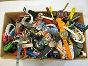 25+ Lbs Character Novelty Advertising Wristwatch Watches Parts Untested As Is