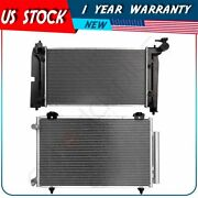 Radiator And Ac Condenser Kit For 2005 2006 2007 2008 Toyota Corolla