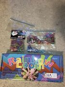 Rainbow Loom Kit Mini Rubber Band Bracelets In Original Box Brand New With Extra