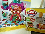 Play-doh Kitchen Creations Candy Delight And Flip And039n Pancakes Playsets - 2 Sets