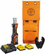 Klein Tools Bat207t1 7-ton Battery-operated Crimper With Fixed Bg Die/d3 Groove