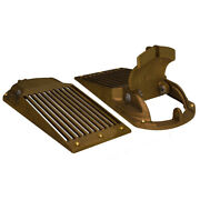 Groco Bronze Slotted Hull Scoop Strainer W/access Door F/up To 3 Thru Hull