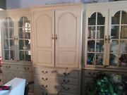 Thomasville Wood Entertainment Center, Wall Unit, All Wood