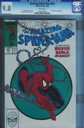 Cgc 9.8 Amazing Spider-man 301 White Pages Super Classic Mcfarlane Cover