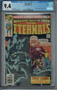 Cgc 9.4 Eternals 1 White Pages 1st Appearance Ikaris Deviants And The Eternals