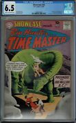 Cgc 6.5 Showcase 20 Rip Hunter Time Master 1st Appearance 1959 Cr/ow Pages