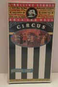 The Rolling Stones Rock And Roll Circus December 11,1968 Vhs Sealed 1003-0