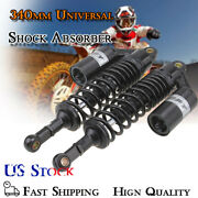 2pcs 340mm 13.4 Rear Motorcycle Air Shock Absorber Gas Suspension For Bmw Usa