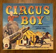 Very Rare Circus Boy Board Game 1956 Micky Dolenz Hg Toys And Games