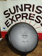 Fully Restored Griswold Cast Iron 9 Skillet Small Block 11 Seasoned Flat