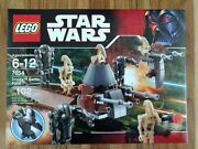 Lego Star Wars Set 7654 Droids Battle Pack Factory Sealed In Box New