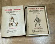 Original Dungeons And Dragons O Dandd 5th Printing 1975 Lovely Condition Booklets