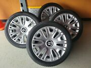 19 Oem Bentley Gt Wheels And Snow Tires - Barely Used - Like New -
