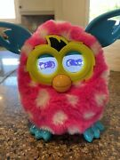 2012 Hasbro Pink Polka Dot Furby Pa-282 A4332/a4343 Boom Tested Works Perfectly