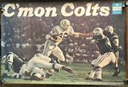 1972 Norm Buliach Colts Chrysler Dealership Ad Poster Si Sports Illustrated Like