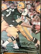 Rare 1970 Bart Starr Recreaction Football Ad Poster Si Sports Illustrated Like