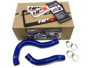 Hps Blue Reinforced Silicone Radiator Hose Kit Coolant For Acura 02-06 Rsx