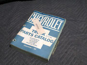 1966 Chevrolet Truck Parts Catalog 1-1/2, 2 , And 2-1/2 Ton 1955-1967