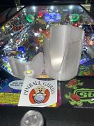 Pinball Machine Drink/cup/pop/soda/beverage Holder All Side Mountable - Pearl
