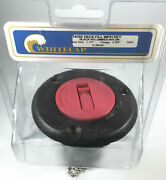 Whitecap S-7012c Nylon Gas Hose Deck Fill With Red Cap-brand New