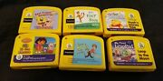 Lot Of 6 My First Leappad Learning System Cartridges Yellow