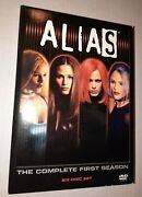 Alias The Complete First Season Dvd 2002 6-disc Box Set Used