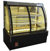 """47"""" Air-cooled Refrigerated Display Showcase Cake Cabinet Front Opening 220v"""