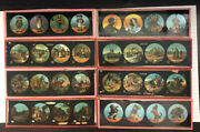 Magic Lantern Antique Glass Slide Lot Of 22 86 Pictures Indians Homesteads ++
