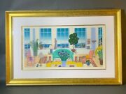 Thomas Mcknight, Pacific Heights, Serigraph, Sgnd, Hors Commerce 42/50