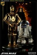 Sideshow C3p0 And R2d2 Premium Format Exc Rare Artist Proof Factory Sealed Shipper