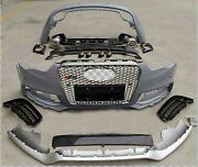 2012-2015 Audi A5/s5 Body Kit Rs5 Complete Bumper Front Rear Lip Grill