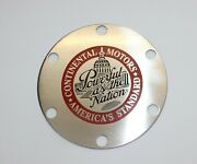 Continental A65 85 90 O200 Propeller Cover Plate Powerful As The Nation