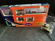 Lemax Spooky Town Signature Collection Rip Railroad Train Set And Deadly Crossing