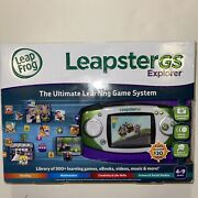 Leapfrog Leapster Gs Explorer The Ultimate Learning Game System 39700 New In Box