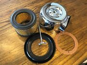 New Vintage Bmw R50-r69s Chrome Air Filter Housing Complete W/gasket Filter