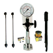 Diesel Injector Nozzle Tester Glycerin Fill Scale- 420 Bar / 6000 Psi Dual Gauge