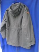 German Army Cold Weather Hooded Parka W/removable Liner-large /xl 3 Med-reg Us