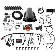Fitech 78107 Ls1/ls2/6 500hp Fuel Pump Coil Pack And Trans Tall