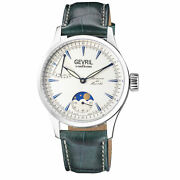 Gevril 462001 Menand039s Five Points Swiss Mechanical Manual Winding 6498 Moon Phase
