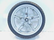 Bmw K1200rs K1200 Rs R1100s Silver Front Wheel Rim And Tire 3.5x17 - Straight