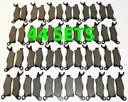 44 Sets 2012 2013 Can-am Renegade 800 / 800r Front And Rear Brakes Brake Pads