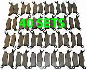 40 Sets 2012 2013 Can-am Renegade 1000 Xxc Front And Rear Brakes Brake Pads